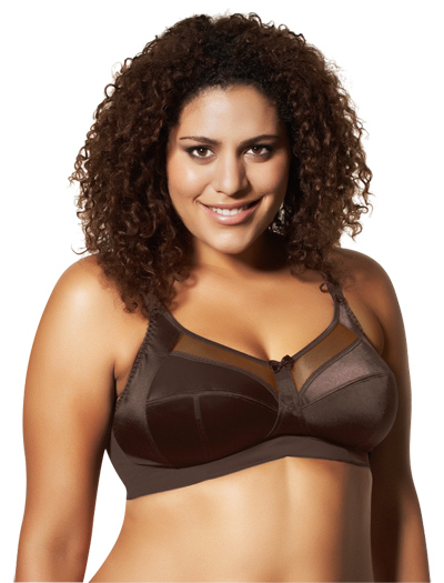 Goddess Keira Soft Cup Bra 6093 - Chocolate