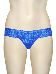Hanky Panky Low Rise Thong 4911 - Bali Blue