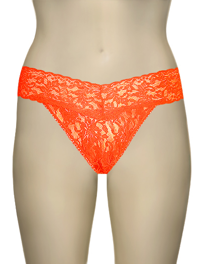 Hanky Panky Original Signature Lace Thong 4811 - Scrm. Orange