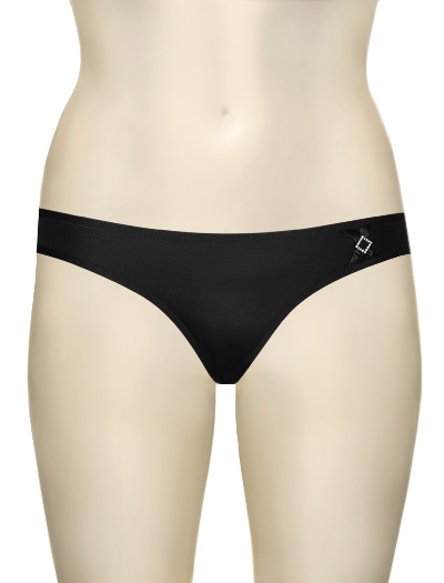 Hotmilk Blaze Maternity Bikini Brief BL-BK - Jet Black