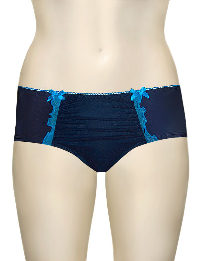 Hotmilk She Craved A Little Decadence French Brief SC-FB - Blue
