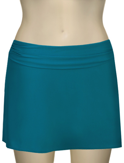 Karla Colletto A-Line Skirt Cover Up 102-C11 - Teal