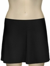 Karla Colletto Basic A-Line Skirt BA-C11 - Black
