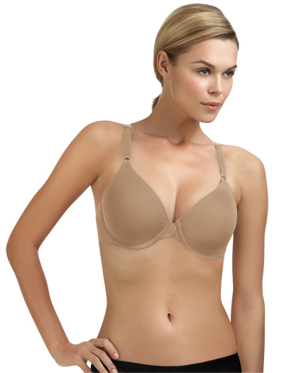 Le Mystere Signature Comfort Y-Back Bra 9518 - Natural