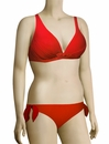 Lise Charmel Antigel L'Estivale Chic Triangle Bikini Top FBA3216 - Rouge