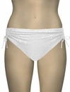 Lise Charmel Antigel La Beach Guipure Adjustable Brief FBA0605 - Crochet Blanc