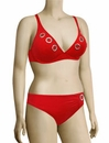 Lise Charmel Antigel La Deesse Rivage Triangle Bikini FBA3225 - Red Cruise