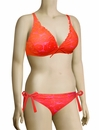 Lise Charmel Antigel La Miss Dentelle Triangle Bikini Top FBA3206 - Orange