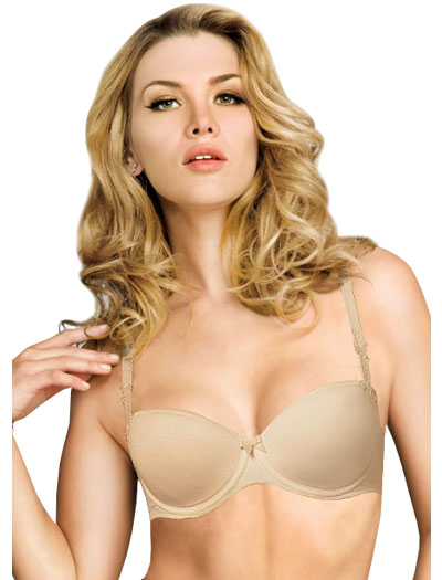 Lise Charmel Antinea Essentiel Fit Strapless Bra CCC8389 - Skin Rose