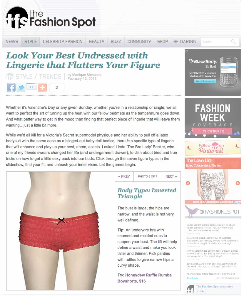 Look Your Best Undressed With Lingerie That Flatters Your Figure