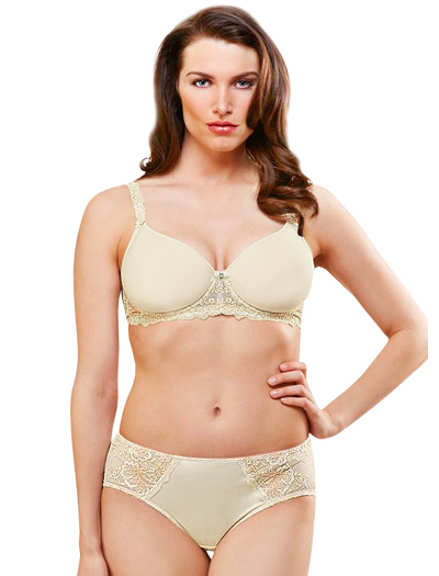 Lunaire Santo Domingo Spacer T-Shirt Bra 32211 - Ivory