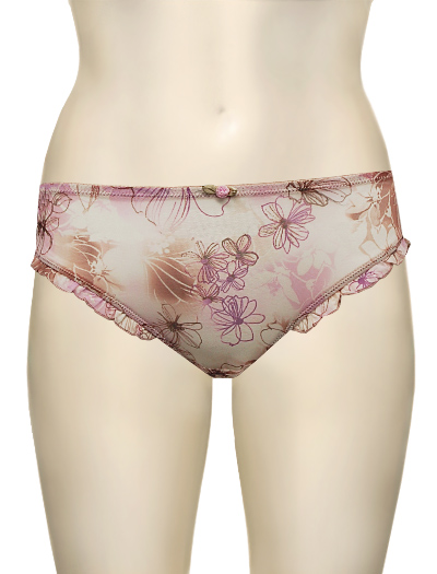 Lunaire Whimsy Honolulu Cheeky Panty 19335 - Deco Floral