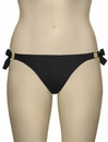 Miss Mandalay Boudoir Beach Tieside Brief BOU03BTS - Black