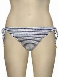 Miss Mandalay Hamptons Tieside Bikini Brief HAM03STS - Stripe