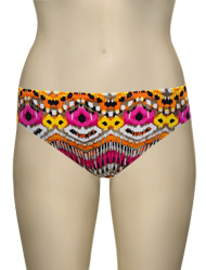 Miss Mandalay Ibiza Bikini Brief IB02TBB - Pink Print