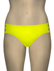 Miss Mandalay Los Angeles Deep Brief LOS02YDB - Yellow