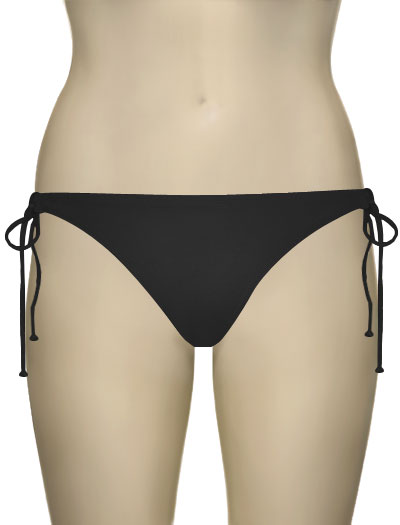 Miss Mandalay Los Angeles Tieside Brief LOS03BTS - Black