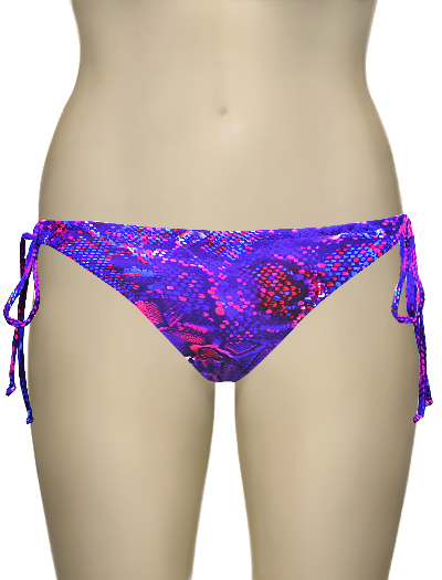 Miss Mandalay Venom Tieside Brief VEN02STS - Neon Snake