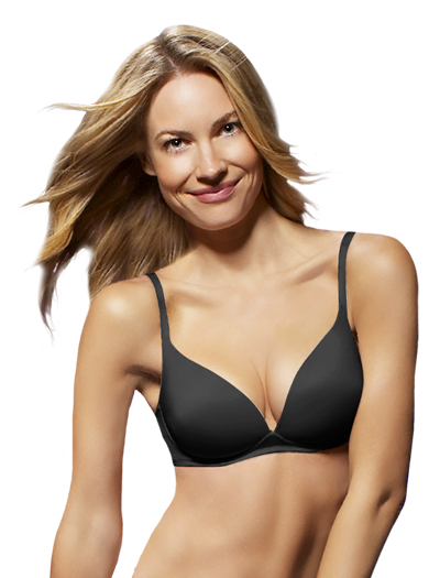 Panache Atlantis Wire Free T-Shirt Bra 5945 - Black