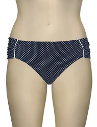 Panache Britt Gather Bikini Pant SW0829 - Navy Spot