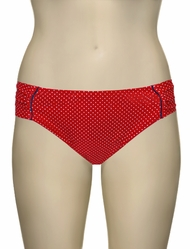 Panache Britt Gather Bikini Pant SW0829 - Red Spot