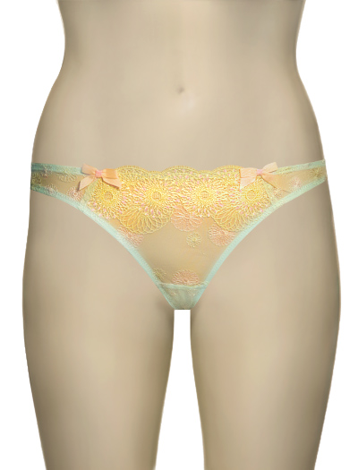 Panache Cleo Bonnie Thong 6199 - Hawaiian Blu