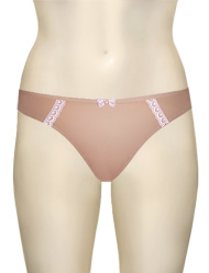 Panache Cleo Jude Thong 5849 - Nude / Pink