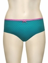 Panache Cleo Maddie Spot Brief 7882 - Teal