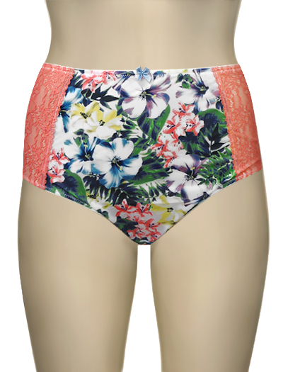 Panache Sculptresse Chi Chi Full Brief 7692 - Tropical Print