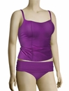 Panache Sophia Underwire Tankini Top SW0631 - Purple