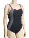 Panache Sports Underwire One Piece Swimsuit 7340 - Black