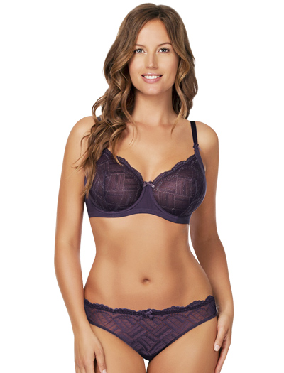 Parfait Lucie Unlined Wire Bra P5202 - Mood Indigo