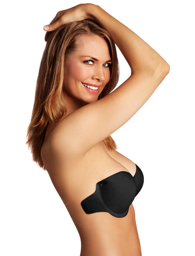 Sassybax Very Bare Adhesive Backless Bra VB14 - Black