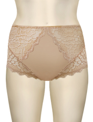 Simone Perele Caresse Control Brief 12A770 - Peau Rose