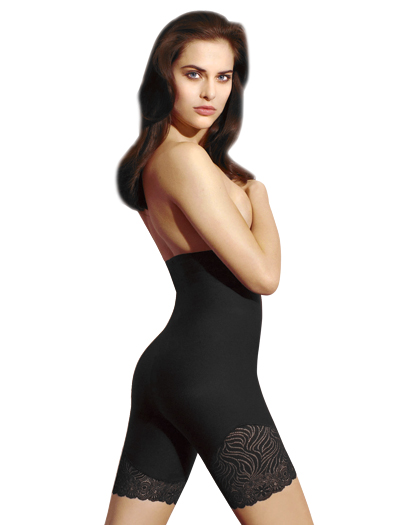 Simone Perele Top Model High Waist Shaper 16R671 - Black