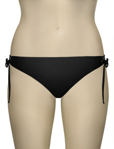 Sunsets Keyhole Tie Side Bikini Brief 15B - Black