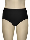 Sunsets Solid High Waist Brief 97B - Black