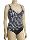 Sunsets Underwire Apron Tankini Top 86T - Ocean Weave