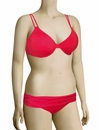 Swim Systems Double Strap Underwire Bikini Top H715 - Red Currant
