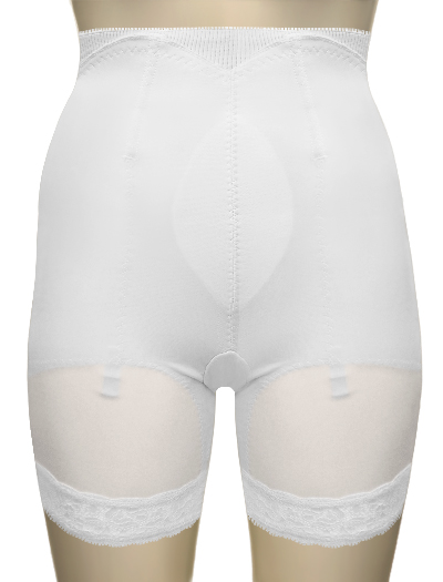 Venus Firm Control Cuff Top Panty 5039 - White