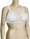 Venus Full Figure Seamless Minimizer Soft Cup Bra 560-2 - White