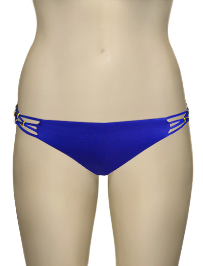 Vitamin A Klein Blue EcoLux Amber Beaded Full Cut Brief 158BF - KLB