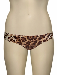 Vitamin A Leopard Paloma Seamless Hipster Full Cut Bikini Bottom 410BF - LPP