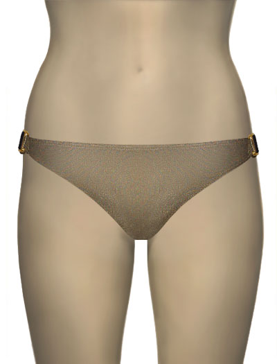 Voda Swim Natural Stone Scoop Bikini Bottom E09 - Sahara