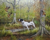 English Pointer: Timberdoodles Southern Style - giclee
