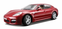 1/18 Porsche Panamera Turbo: Metallic Red toy car