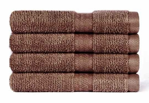 "100% Cotton Super Soft Highly Absorbent Luxury Wash Cloth - 13"" x 13"" - 4 pk"