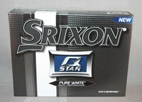 12 Srixon Q-Star Pure White Golf Balls