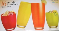 16 Piece Acrylic Tumbler Set 667403