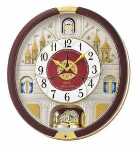 2016 Seiko Melodies in Motion Wall Clock